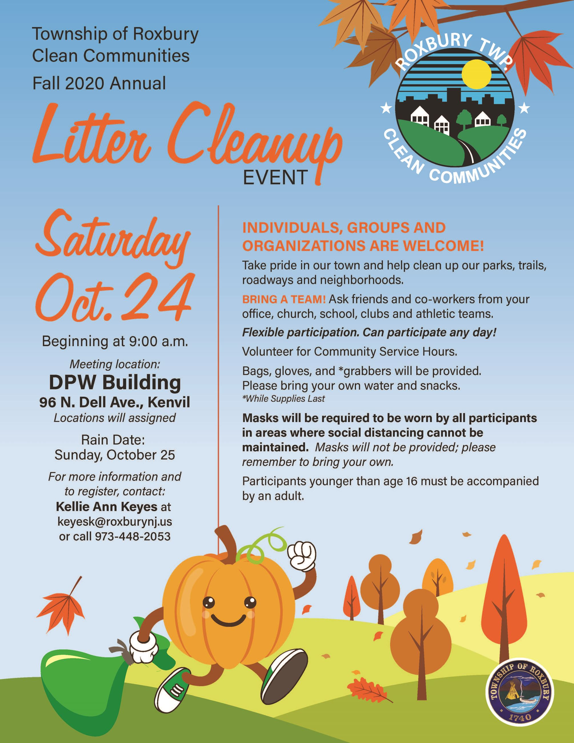 2020 Fall cleanup flyer